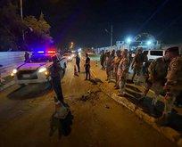 Bağdat'ta polis karargahına füze saldırısı