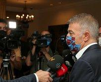 Başkan Ağaoğlu açıkladı: Sörloth gidiyor