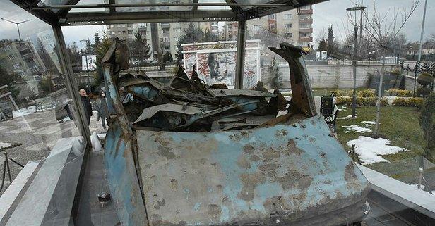 Gazeteci yazar Mumcu'nun otomobili Eskişehir'de sergileniyor