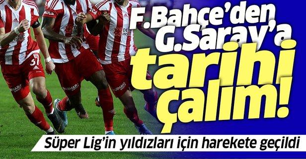 Süper Lig'in 2 yıldızı Fenerbahçe'ye