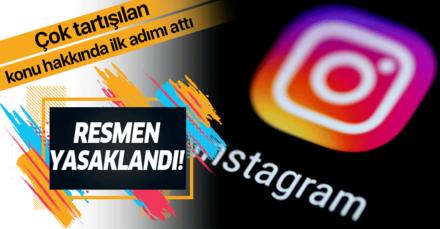 Instagram çok konuşulan konu hakkında ilk adımı attı! Resmen yasakladı!