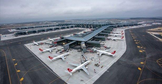 İstanbul Havalimanı yine ilki başardı
