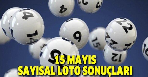 15 Mayıs Sayısal Loto sonuçları açıklandı