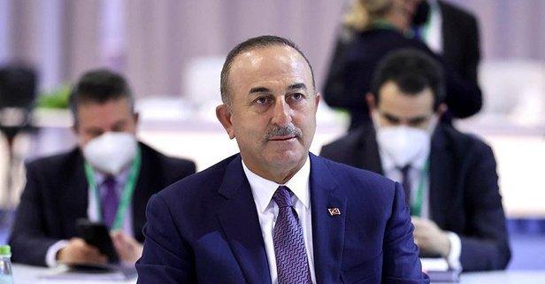 Bakan Çavuşoğlu Suriye konulu toplantıya katıldı
