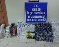 Kocaeli'de kaçak sigara operasyonu!
