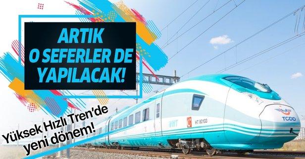 Yüksek Hızlı Tren'de yeni dönem başlıyor!
