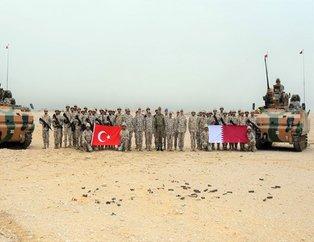 Türkiye ve Katar'dan ortak tatbikat