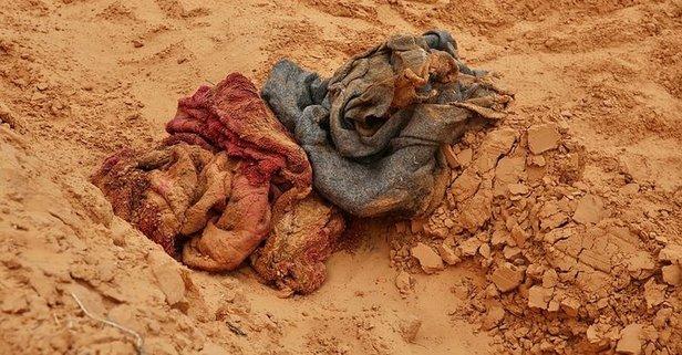 Terhune'deki toplu mezarlarda yeni cesetler bulundu!