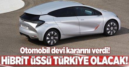 Renault hibrit araçlarını Türkiye'de üretecek!