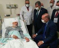 Erdoğan o ismin cenazesi için Rize programını yarıda kesti