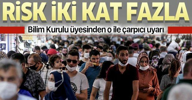 İstanbul'da risk iki kat daha fazla