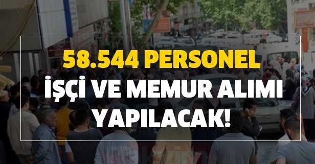 İŞKUR 28 Haziran bugünün kamu ilanları: 58.544 personel, işçi ve memur alımı