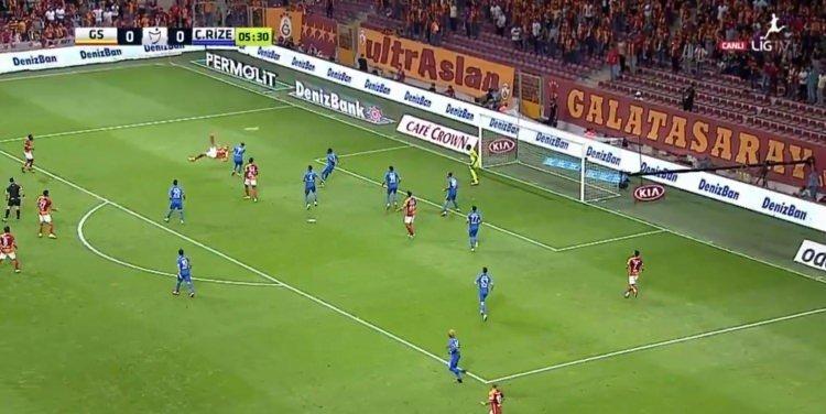 Erenin müthiş golünde De Jongun ağzı açık kaldı