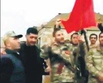 Türk Bayrağı Karabağ'da
