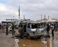 Azezde bombalı araçla saldırı