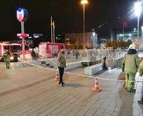 Taksim Metro İstasyonunda intihar!