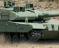 Altay tankına motor bulundu