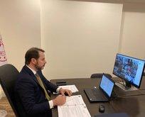G20 Maliye Bakanları ''online'' toplandı