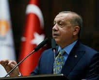 Başkan Erdoğandan öğrenci andı açıklaması