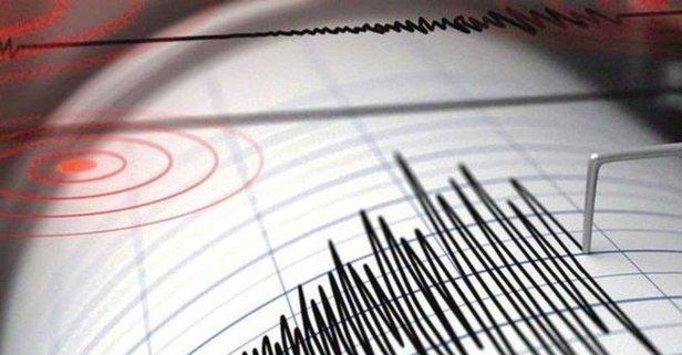 Antalyada korkutan deprem