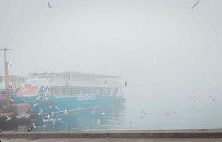Deniz ulaşımına hava muhalefeti! Seferler iptal edildi