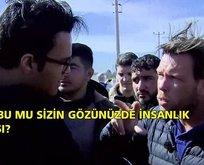 İngiliz SKY News muhabiri Türkiye'ye iftira atmaya çalıştı!