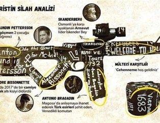 Yeni Zelanda'da katliam yapan terörist Brenton Tarrant'ın tarihi kodları!