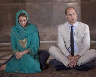 Kate Middleton ve eşi Prens William Pakistan'da Kur'an-ı Kerim dinlediler!