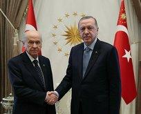 Erdoğan ve Bahçeli Ankara'da ortak miting yapacak