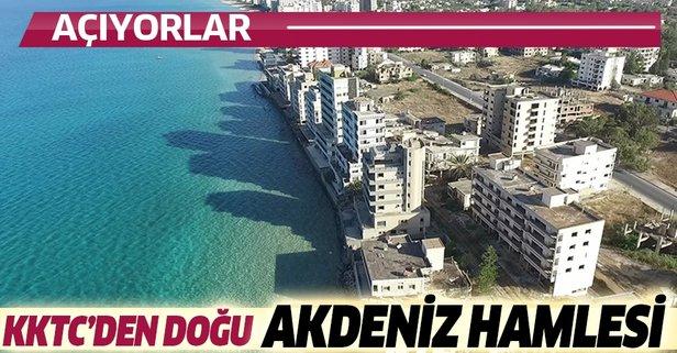 KKTC'den Doğu Akdeniz hamlesi