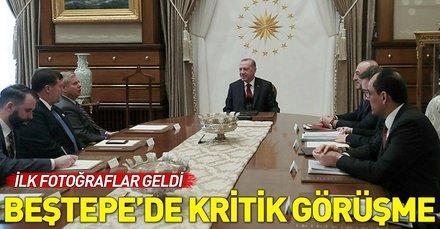 Başkan Erdoğan ABD'li senatör Lindsey Graham'ı Beştepe'de kabul etti
