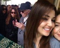 Hande Erçel'in acı günü! Hande Erçel'in annesi Aylin Erçel toprağa verildi