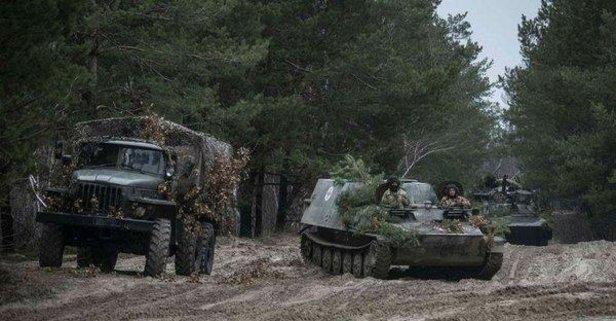 Ukrayna sınırında 150.000 Rus askeri var