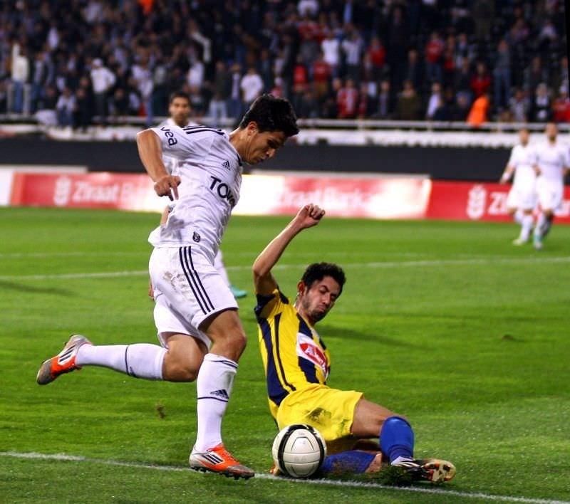 Beşiktaş - Ankaragücü: 3-2
