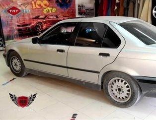 BMW marka otomobilini baştan aşağı yenilediler! Hüngür hüngür ağladı...