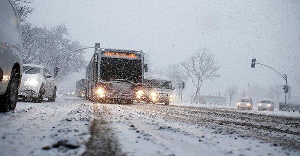 İstanbul kar durumu! İstanbul kar yağışı ne zaman bitecek?