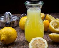 Limon suyu mucizesi