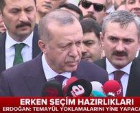 Cumhurbaşkanı Erdoğandan kritik erken seçim mesajları