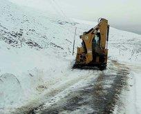 2 ilde 173 yerleşim biriminin yolu kapandı