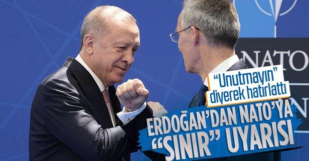 Erdoğan'dan NATO Zirvesi'nde kritik mesaj