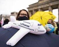 Alman hava yolu şirketi Lufthansa krizde!
