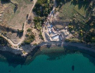 Bakan Kurum talimat vermişti! İzmir Karaburun'daki sit alanına yapılan inşaatta yıkım başladı