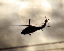 Ülke şokta! Askeri helikopter düştü