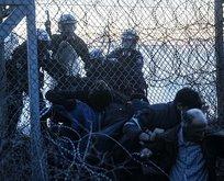 Yunan sınır kapısındaki mülteciler Avrupa'nın uykularını kaçırdı!