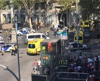 Barcelona'da üst üste saldırılar