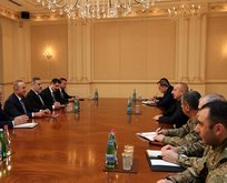 Aliyev'e tebrik ziyareti
