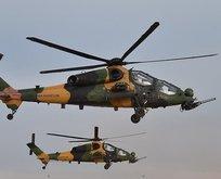 Kandilde helikopter hareketliliği