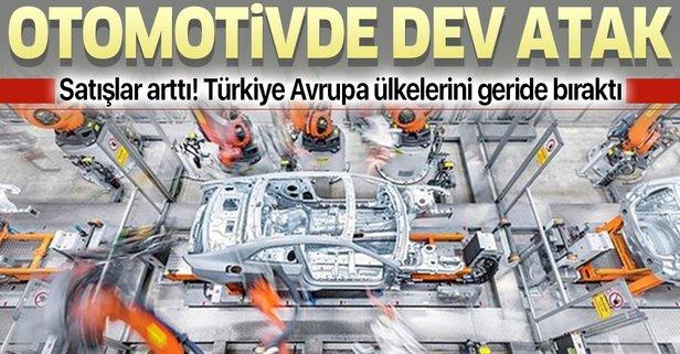 Türkiye'den otomotivde dev atak
