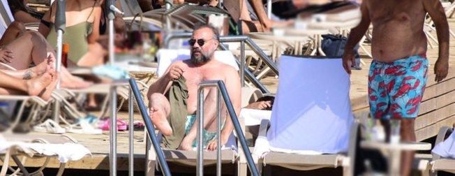 Oktay Kaynarca'nın Bodrum tatili tam gaz devam ediyor!