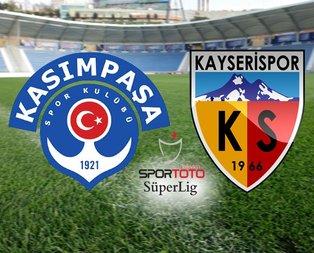Kasımpaşa - Kayserispor maçı ne zaman, saat kaçta, hangi kanalda?
